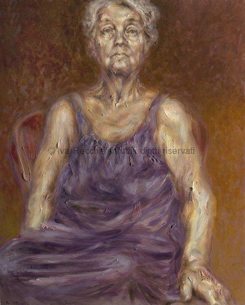 La veste - ritratto della pittrice Alice Neel